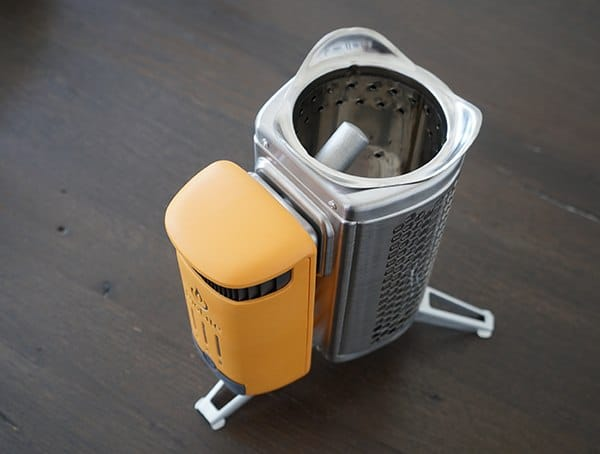 Biolite Campstove 2 With Attached On Board Battery And Control Unit