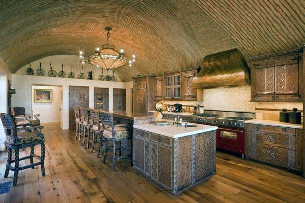 Top 75 Best Kitchen Ceiling Ideas - Home Interior Designs