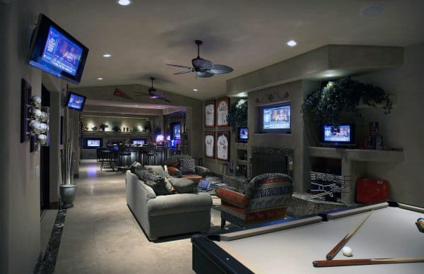Gaming Room Ideas 60 game room ideas for men - cool home entertainment designs