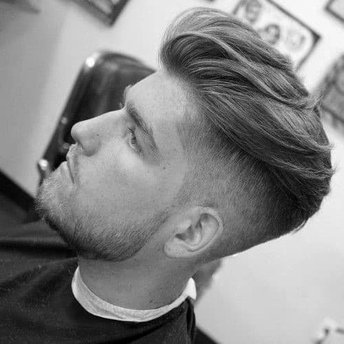 Great Dapper Undercut Trendy Mens Hair. Fashionable Men Trendy Haircuts