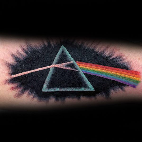 Dark side of the moon tattoo tattoo collections What does it mean when the moon is pink