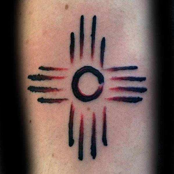 Guys Zia Tattoo Design Ideas Simple Small Paint Brush Stroke