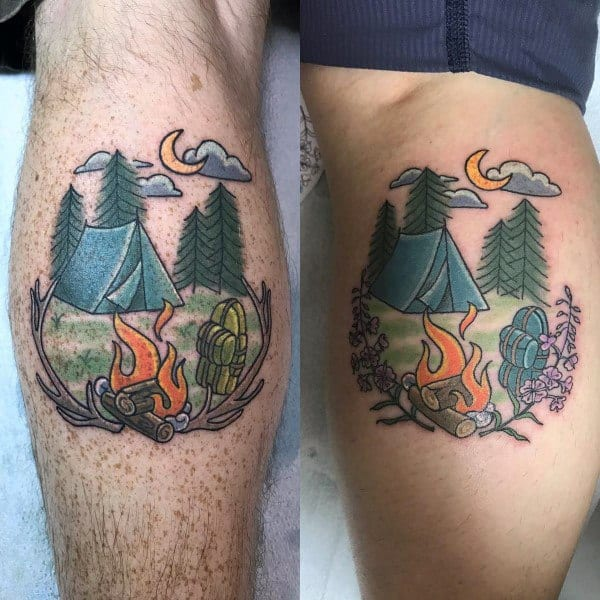 28 Matching Tattoo Designs Ideas: Top 100 Best Matching Couple Tattoos