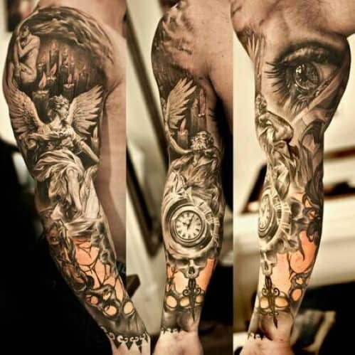 Manly Tattoo Sleeves