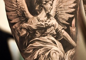 Angel Tattoo Ideas For Men