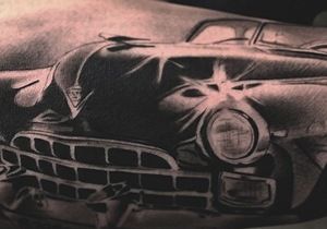 Car Tattoo Ideas For Men