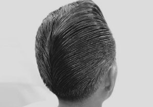 Ducktail Haircut Ideas For Males
