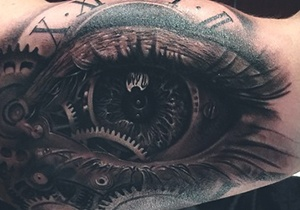 Eye Male Tattoo Design Ideas