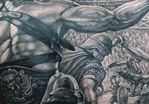 Gladiator Tattoo Ideas For Men