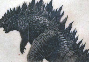 Godzilla Tattoo Men's Ideas
