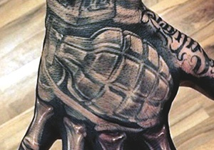 Grenade Tattoo Design Ideas For Men