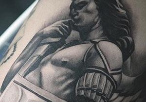 Guardian Angel Male Tattoo Ideas