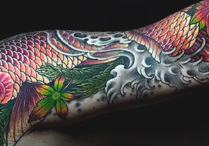 Koi Fish Tattoo Design Ideas For Men