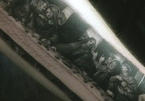 Last Supper Tattoo Design Ideas For Men