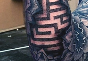 Male Optical Illusion Tattoos
