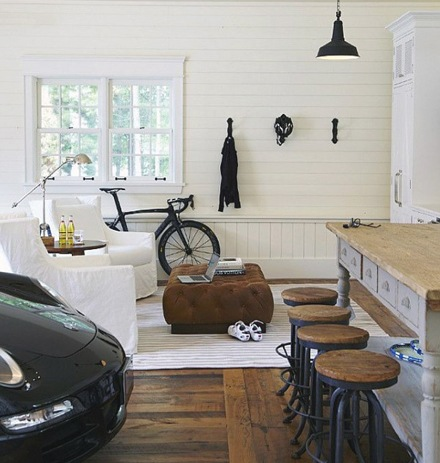 Manly Man Cave Garage Ideas