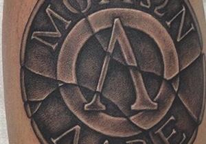 Molon Labe Male Tattoo Design Idea Inspiration