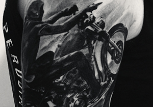 Motorcycle Tattoo Ideas For Men