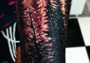 Pine Tree Tattoo Ideas For Men