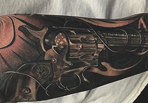 Pistol Tattoo Ideas For Guys
