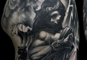 Poseidon Tattoo Design Ideas For Men
