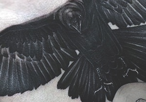 Raven Tattoo Design Ideas For Men