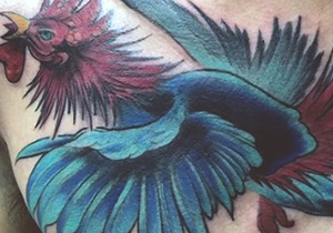 Rooster Tattoo Design Ink Ideas For Guys