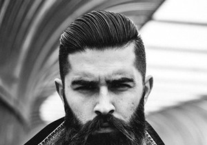 Slicked Back Hairstyles For Males