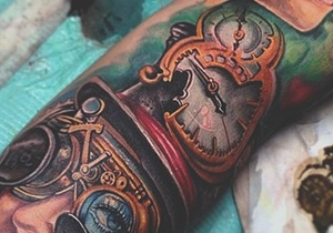 Steampunk Men's Tattoo Design Ideas