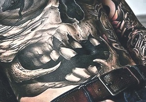 Stomach Tattoo Ideas For Men