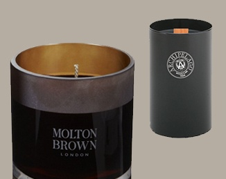 Ten Manly Smelling Man Candles