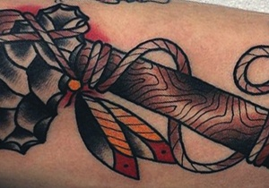 Tomahawk Tattoo Men's Design Ideas