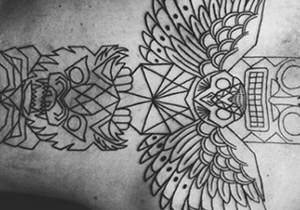 Totem Pole Tattoo Design Male Ideas