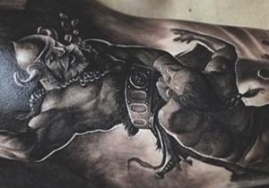 Warrior Tattoo Ideas For Men