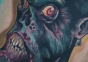 Zombie Tattoos For Gentlemen
