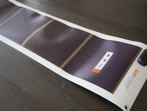 10 Watt Flexible Solar Panel Sunsoaker
