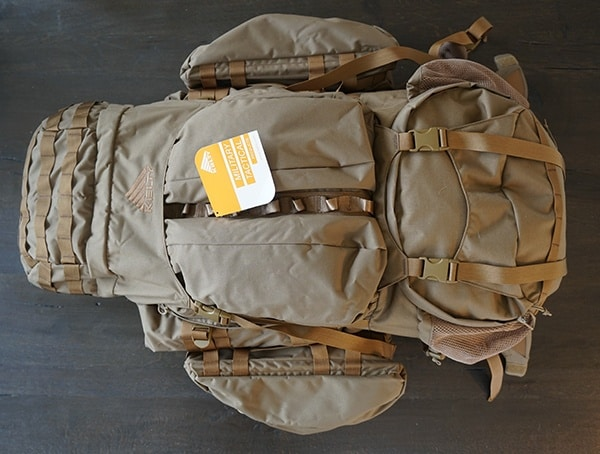 128 Liter Kelty Eagle Backpack 7850 Front Of Pack