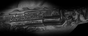 50 1911 Tattoo Ideas For Men – Handgun Designs