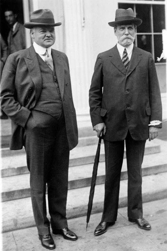 1920s Mens Fashion Accessories Hat And Umbrella