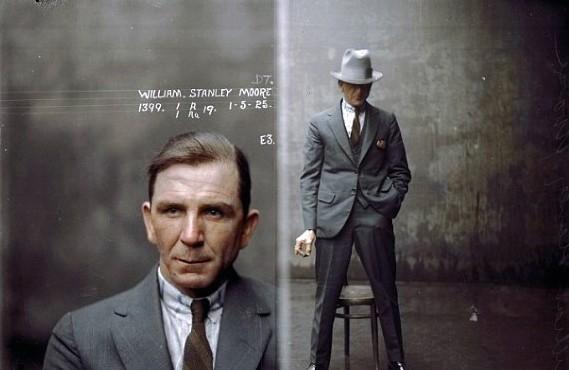 1920s Mens Fashion Gangster