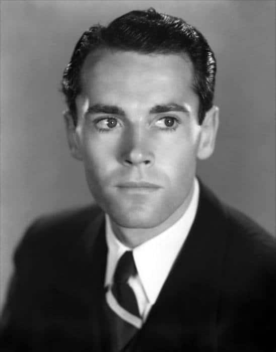 1930s Henry Fonda Male Haircut