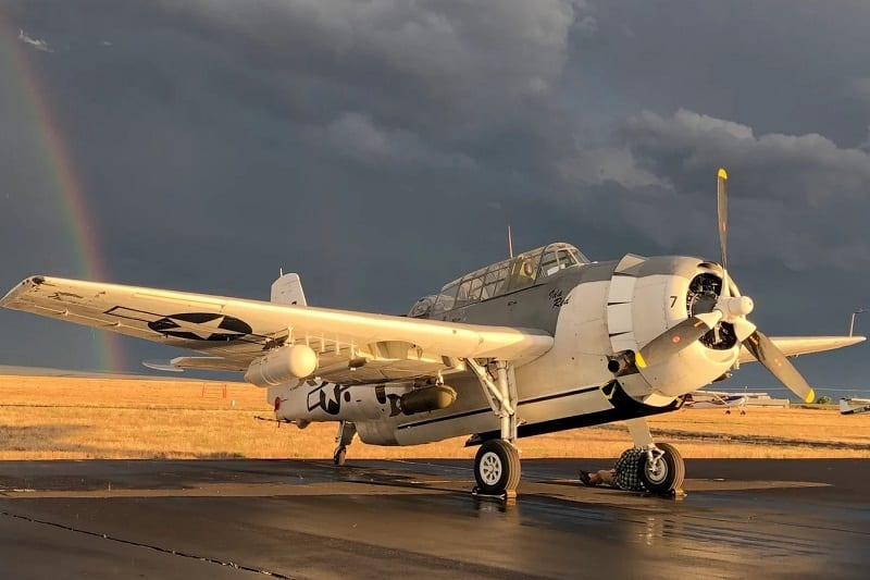1945 Grumman TBM-3E Avenger ($495,000)