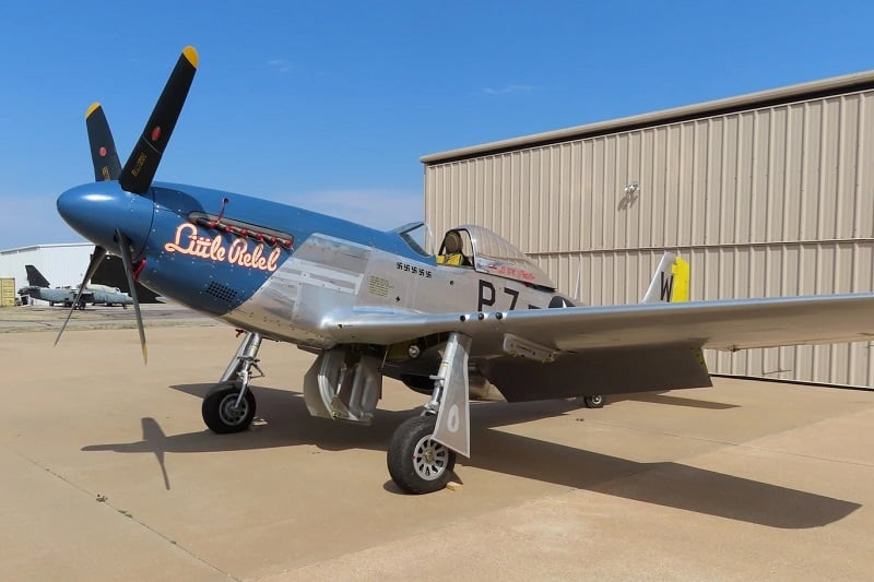 1945 North American Aviation P-51D Mustang ($2,250,000)