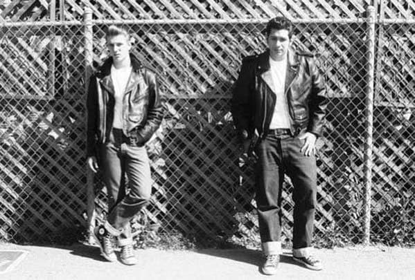 1950s Mens Fashion Greaser Looks