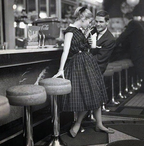 1950s Young Mens Fashion For Date Nights