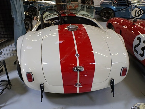 1964 289 Slalom Snake Cobra Roadster Csx2537 Rear