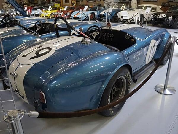 1964 Usrrc Cobra Roadster Csx2385 Rear