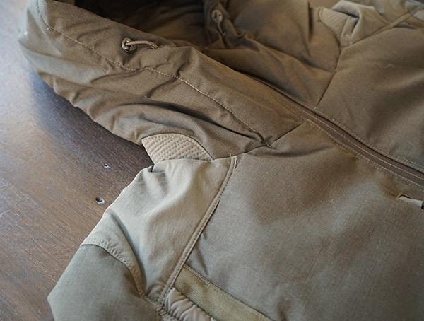 2 Layer Wool Overlay Olive Mens Firestorm Down Parka