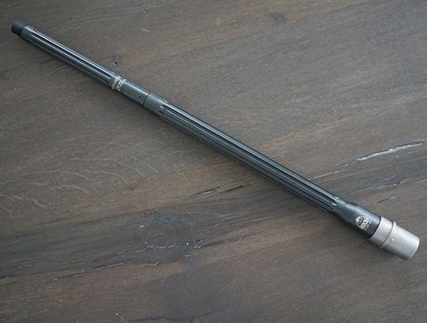 20 Inch Faxon Fireams Match Grade Nitride Barrel