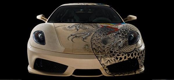 Ferrari Leather Tattoo Ink